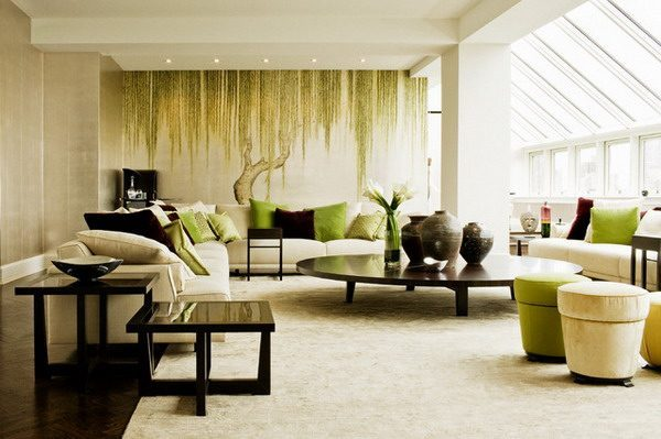 Contemporary-Living-Room-Ideas-with-Wall-Mural